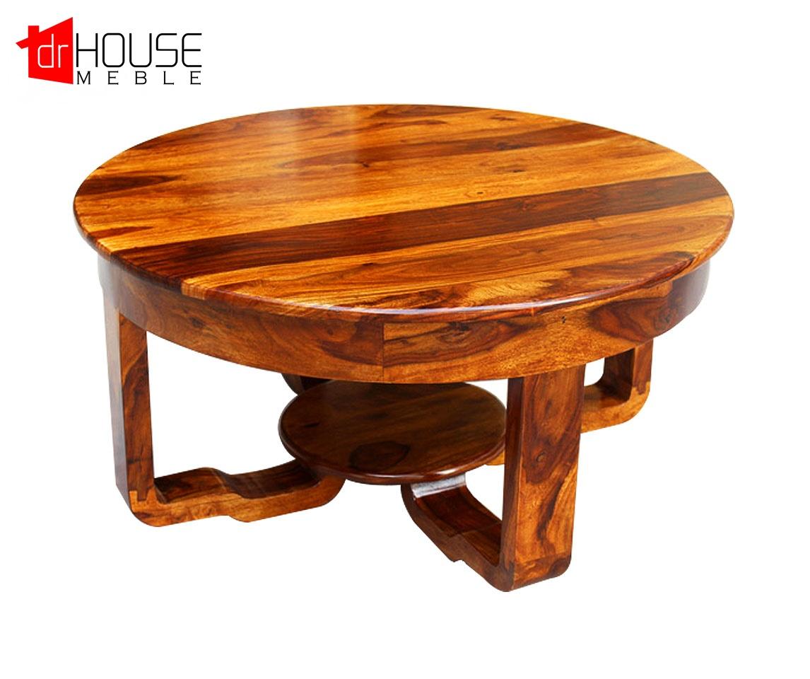 Ukochany Kolonialny stolik kawowy, stolik kawowy do salonu #WP-81