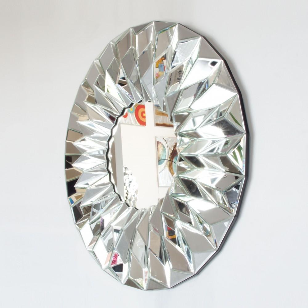 Dekoracyjne Okrągłe Lustro